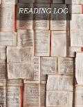 Reading Log: Gifts for Book Lovers / Reading Journal [7.44  x 9.69] 100 Spacious Record Pages (Reading Logs & Journals)