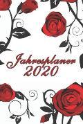 Jahresplaner 2020: Taschenkalender A5 - Terminkalender 2020 - Jahresplaner - Wochenplaner - modisch & schlicht - Organizer