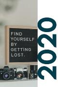 2020: Teenage books about finding yourself Beautiful Planner Calendar Organizer Daily Weekly Monthly Student Diary for plann