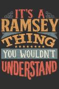 It's A Ramsey You Wouldn't Understand: Want To Create An Emotional Moment For The Ramsey Family? Show The Ramsey's You Care With This Personal Custom