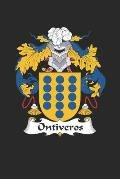 Ontiveros: Ontiveros Coat of Arms and Family Crest Notebook Journal (6 x 9 - 100 pages)
