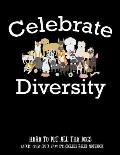 Celebrate Diversity Here To Pet All The Dogs 8.5x11 (21.59 cm x 27.94 cm) College Ruled Notebook: Awesome Composition Notebook For Dog Owners and Lo