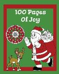 100 Pages OF JOY: 100 Pages Of Christmas Fun Book, Christmas Coloring And Game Book, Best Christmas Gift For Kids, Holiday Activity Book