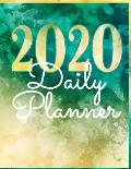 2020 Daily Planner: Day to View with Habit Tracker, Yearly and Monthly Planners