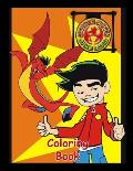 American Dragon Jake Long Coloring Book: Coloring Book for Kids and Adults, High Quality Coloring Book
