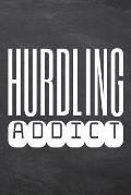 Hurdling Addict: Hurdling Notebook, Planner or Journal - Size 6 x 9 - 110 Dot Grid Pages - Office Equipment, Supplies, Gear -Funny Hurd