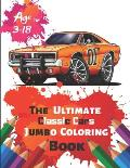 The Ultimate Classic Cars Jumbo Coloring Book Age 3-18: Great Coloring Book for Kids and Any Fan of Classic Cars with 50 Exclusive Illustrations (Perf