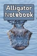 Alligator notebook: Gift notebook For Alligator lovers it will be the Gift Idea for Alligator Lover.