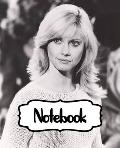 Notebook: Olivia Newton-John English-Australian Singer, Songwriter Single You're the One That I Want Greatest Hit, Large Noteboo
