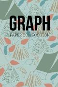 Graph Paper Composition: Graph Paper 6 x 9 Quad Ruled 4x4, Grid Paper for school student, office, kids Notebooks