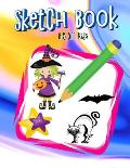 Sketch Book 8.5 X11 Kids: Beginning Sketching Books For Kids - Largest Sketch Book Lovers To Halloween Gifts For Kids Under 10 Idea