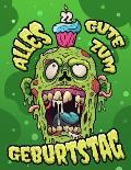 Alles Gute zum 22. Geburtstag: Ein lustiges Zombie Buch, das als Tagebuch oder Notizbuch verwendet werden kann. Perfektes Geburtstagsgeschenk f?r Zom
