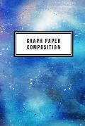 Graph Paper Composition: Graph Paper 6 x 9 Abstract Quad Ruled 4x4, Grid Paper for school student, office, kids Notebooks