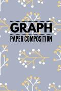 Graph Paper Composition: Graph Paper 6 x 9 Forest Walk Quad Ruled 4x4, Grid Paper for school student, office, kids Notebooks