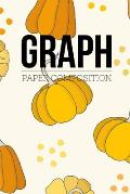 Graph Paper Composition: Graph Paper 6 x 9 Autumn Quad Ruled 4x4, Grid Paper for school student, office, kids Notebooks