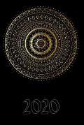 2020: My personal organizer 2020 with Mandala Design - personal organizer 2020 - weekly calendar 2020- monthly calendar for