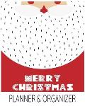 Merry Christmas Planner & Organizer: Holiday Party Planner & Festivities Organizer - 8x10 - 100 Pages