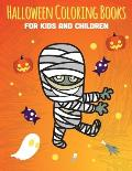 Halloween Coloring Books for Kids and Children: i spy halloween book for kids