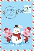 Christmas Card List and Address Book 2019-2028: A Ten-Year Card Address List Mailing Send and Receive Tracker Xmas Organizer Tabbed in Alphabetical fo