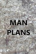 2020 Weekly Planner For Men Man Plans Engraved Carved Stone Style 134 Pages: 2020 Planners Calendars Organizers Datebooks Appointment Books Agendas