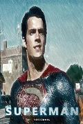 Superman: Gift for DC Justice League Themed Fan Notebook Journal 6 x 9 inch