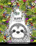 Sloth Coloring Book for Adults: (Animal Coloring Books for Adults)