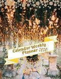 Calendar Weekly Planner 2020: Monthly Planner, Academic Planner, Agenda Schedule Organizer Logbook and Journal Personal, Academic School Year, Stude