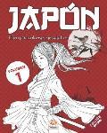 Jap?n - Volumen 1 - edici?n nocturna: Libro para colorear para adultos (Mandalas) - Antiestr?s - 25 ilustraciones especiales Jap?n