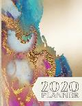 2020 Planner: January 1, 2020 - December 31, 2020, 379 Pages, Soft Matte Cover, 8.5 x 11