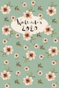 Kalender 2020: Terminkalender 2020 A5 I Wochenplaner Monatsplaner Jahresplaner und Notizbuch in einem I Geschenk f?r Floristin, Fraue