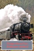 Vintage Steam Train Enthusiasts Notebook: A5 (6 x 9 Inches) Notebook Journal Diary. High Quality Hand Writing Journal with 100 Pages