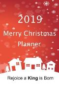 Merry Christmas Planner: The Perfect Way To Keep Track of All Your Festive Plans: 100 Pages 6 x 9 inches