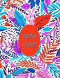 2020-2021 Financial Year Diary Planner: Week on Two Pages - Ideal Tax Return Helper - Large 8.5x 11 Size - Unique BoHo Cover