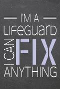 I'm a Lifeguard I Can Fix Anything: Lifeguard Dot Grid Notebook, Planner or Journal - 110 Dotted Pages - Office Equipment, Supplies - Funny Lifeguard