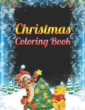 Christmas Coloring Book: a beautiful coloring book with Christmas