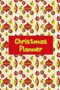 Christmas Planner: Christmas Card Address, Gift Giving Tracker & Dinner Preparation