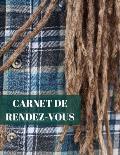 Carnet de Rendez-vous: Grand carnet A4 de 54 pages sans dates pour 1 ? 5 employ?s selon utilisation- plage de 15/30 minutes (52 semaines ou 5