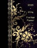 2020-2024 Five Year Planner: Monthly Organizer And Five Year Planner Gifts - Into Night
