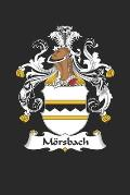 Mörsbach: Mörsbach Coat of Arms and Family Crest Notebook Journal (6 x 9 - 100 pages)