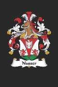 Nusser: Nusser Coat of Arms and Family Crest Notebook Journal (6 x 9 - 100 pages)