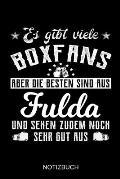 Es gibt viele Boxfans aber die besten sind aus Fulda und sehen zudem noch sehr gut aus: A5 Notizbuch - Liniert 120 Seiten - Geschenk/Geschenkidee zum