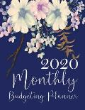 Budget Planner 2020: Financial planner organizer budget book 2020, Yearly Monthly Weekly & Daily budget planner, Fixed & Variable expenses