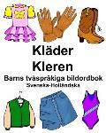 Svenska-Holl?ndska Kl?der/Kleren Barns tv?spr?kiga bildordbok