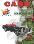 Unique Coloring Book Cars for kid. Extra Large 150+ pages. More than 70 cars: Chevrolet, KIA, Citroen, Nissan, Ford, Suzuki and others. Cool Coloring