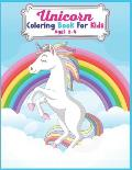 Unicorn Coloring Book For Kids Ages 2-4: Cute Beautiful Unicorn Coloring Book For Kids