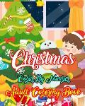Christmas Color By Number Adult Coloring Book: A Coloring Book for Adults Stress Relieving Coloring Pages, Coloring Book for Relaxation and Stress man
