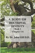 A Body Of Doctinal Divinity Book 1 Chapter 1-6