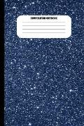 Composition Notebook: Outer Space Full of Stars (100 Pages, College Ruled)