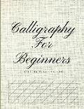 Calligraphy for Beginners Lettering Practice Book: Graph Paper Useful for Mastering Modern Copperplate Calligraphy, Spencerian Pens Lettering Practice