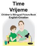 English-Croatian Time/Vrijeme Children's Bilingual Picture Book